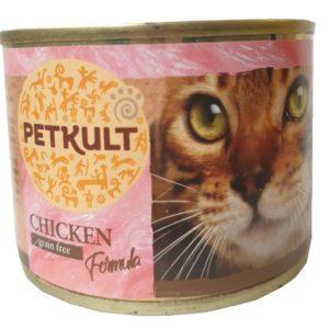 PETKULT  cat konz. KUŘECÍ - 185g (9 + 3 gratis)