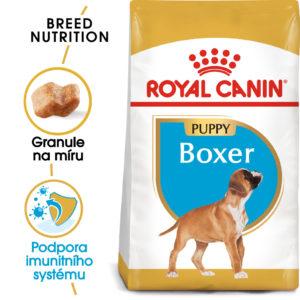 Royal Canin Boxer Puppy - granule pro štěně boxera - 3kg