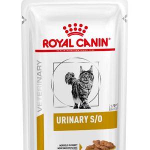 Royal Canin Veterinary Health Nutrition Cat URINARY S/O kapsa in Gravy - 85g