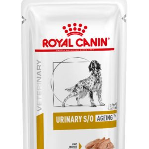 Royal Canin Veterinary Health Nutrition Dog URINARY S/O Age Pouch Loaf kapsa - 85g