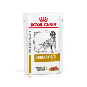 Royal Canin Veterinary Health Nutrition Dog URINARY S/O Pouch in Gravy kapsa - 100g