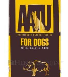 AATU  dog  konz.  WILD BOAR / PORK - 2x400g