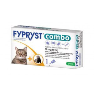 Antiparazitní spot-on  FYPRYST  COMBO pro kočky a fretky - kočka