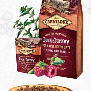 CARNILOVE cat  ADULT LARGE duck/turkey - 6kg