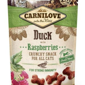 CARNILOVE cat DUCK/raspberries - 50g