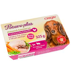 CHEJN - BRAVO vanička kuřecí - 325g