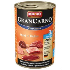 ANIMONDA dog konzerva Gran Carno Junior hovězí/kuřecí - 800g