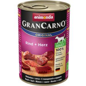 ANIMONDA dog konzerva Gran Carno hovězí/srdce - 800g