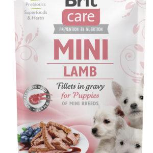 BRIT CARE dog  MINI kapsa  PUPPIES  lamb - 85g