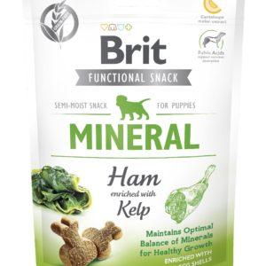 BRIT snack MINERAL ham/kelp - 150g