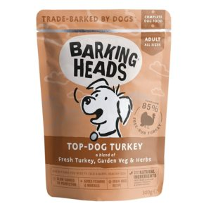 Barking Heads kapsa TOP dog TURKEY - 300g