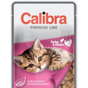 CALIBRA cat kapsa KITTEN TURKEY/chicken - 100g