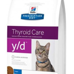 Hills cat  y/d  thyroid   - 5kg