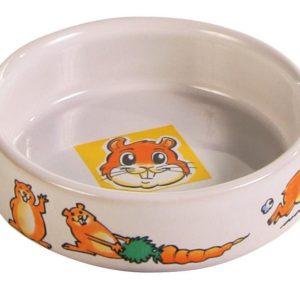 MISKA porcelánová hřeček (trixie)  - 90ml/8cm