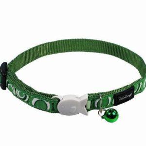Obojek RD  cat CIRCADELIC green - 1
