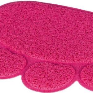 PŘEDLOŽKA tlapka PVC k WC (trixie) - 40x30cm/růžová