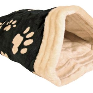 Pelech JASIRA černo-béžový - 25x27x45cm
