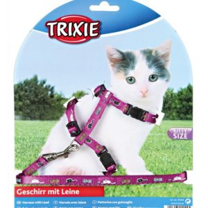Postroj (trixie) CAT pro koťata s vodítkem - 8mm/21-34cm/1