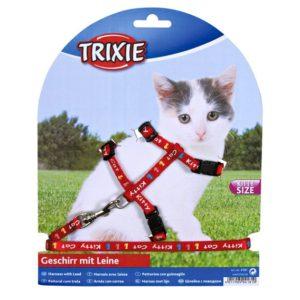 Postroj (trixie) pro koťata KITTY CAT  - 21-33/8mm/1