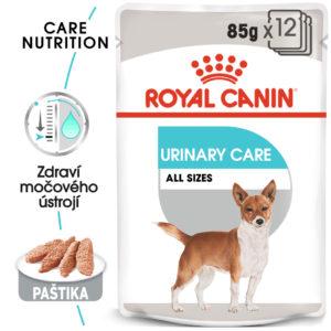 Royal Canin Urinary Care Dog Loaf - kapsička s paštikou pro psy s ledvinovými problémy - 12x85g