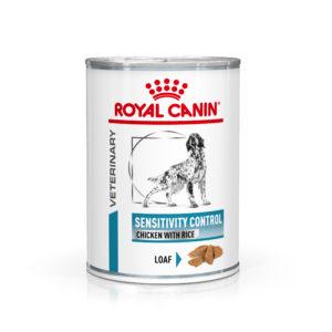 Royal Canin Veterinary Health Nutrition Dog SENS. CONTROL 420g konzerva - Chicken