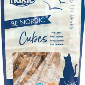 Cat pochoutka BE NORDIC CUBES salmon (trixie) - 50g