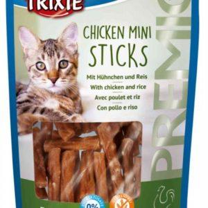 Cat pochoutka CHICKEN MINI STICKS (trixie) - 50g