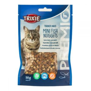 Cat pochoutka MINI fish NUGGETS (trixie) - 50g