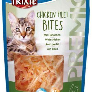 Cat pochoutka Premio Light kuřecí filetky (trixie) - 50g