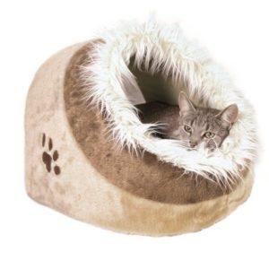 Pelíšek koule Minou hnědá (trixie) - 41x30x50cm