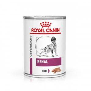 Royal Canin Veterinary Diet Dog RENAL konzerva - 410g