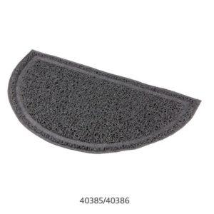 Trixie - PŘEDLOŽKA PVC k WC šedá/půlkulatá - 41 x 25 cm