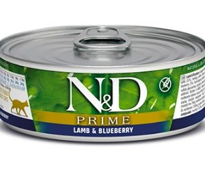N&D cat  konz. PRIME lamb/BLUEBERRY - 12 x 80g