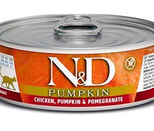 N&D cat  konz. PUMPKIN chicken/POMEGRANATE - 12 x 80g