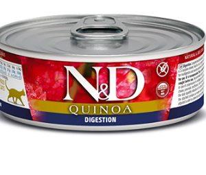 N&D cat  konz. QUINOA digestion - 12 x 80g