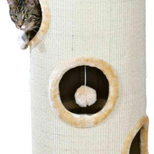 Škrabadlo Cat  Tower Béžové - 36/70cm