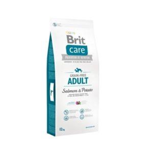Brit Care dog Grain Free Adult Salmon & Potato - 12kg