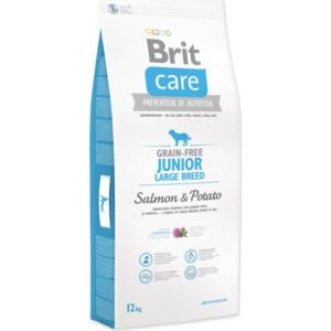 Brit Care dog Grain free Junior Large Breed Salmon & Potato - 12kg