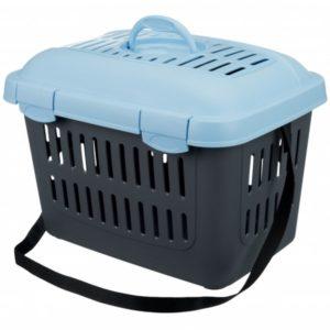 Transportní box CAPRI Midi 44x33x32cm/5kg - modrý