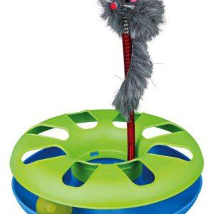 HRAČKA   bláznivý KRUH s myší - 24x29cm