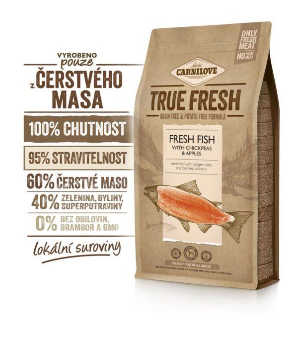 CARNILOVE dog  TRUE FRESH adult FISH  - 11