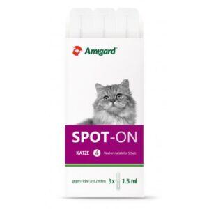 Amigard Spot-on Katze 3x1